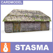Ukrainian shed 3d model