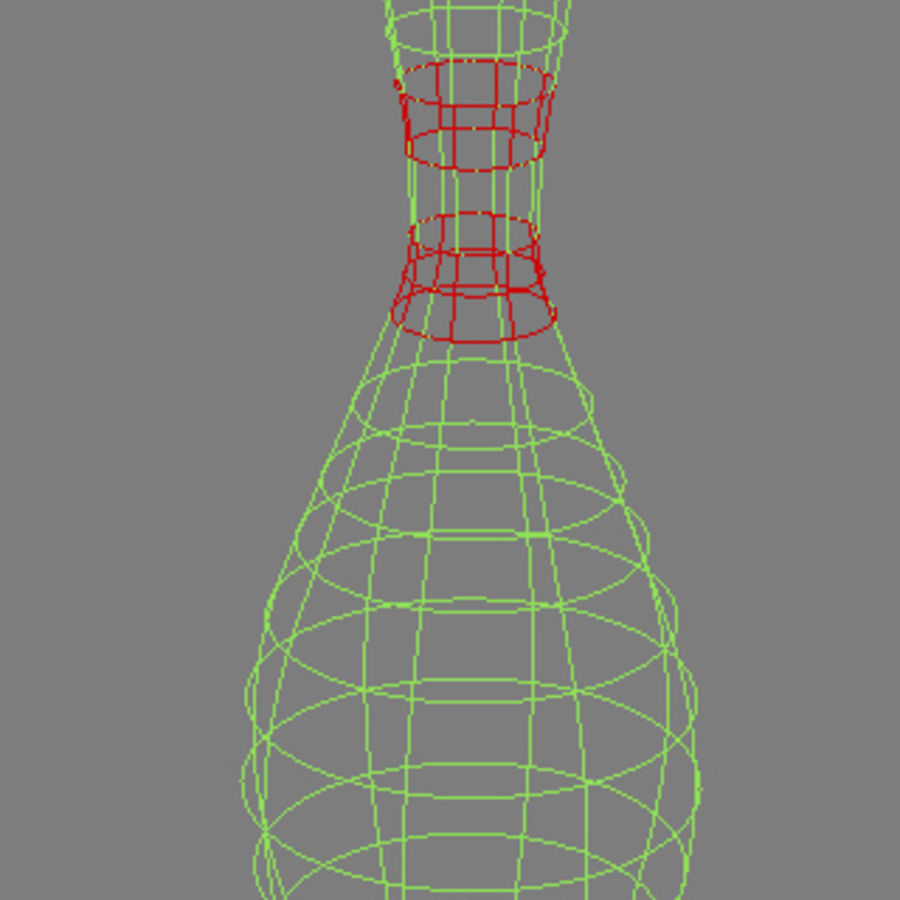 Bowling Pins royalty-free 3d model - Preview no. 4