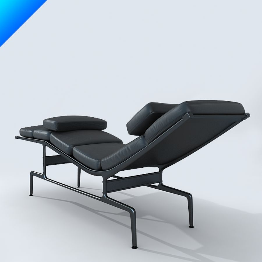 Vitra Es 106 Soft Pad Chaise 3 3d Model 25 Max Obj