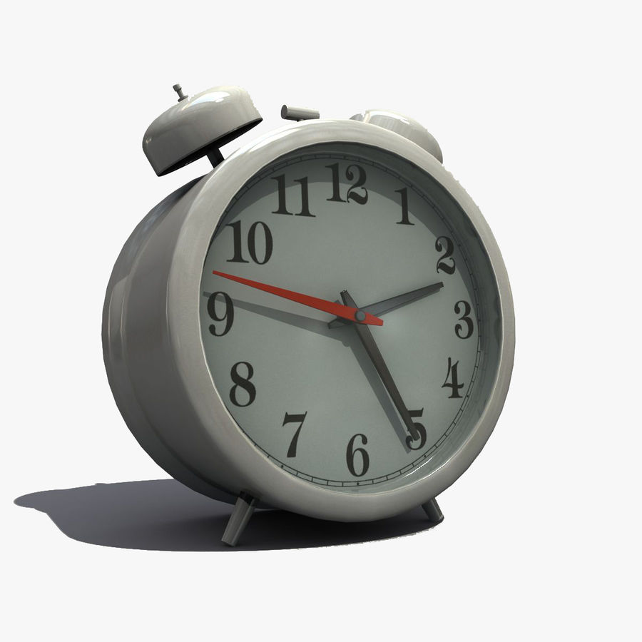Alarm Clock royalty-free 3d model - Preview no. 1