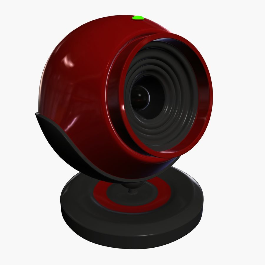 Web cam royalty-free 3d model - Preview no. 1