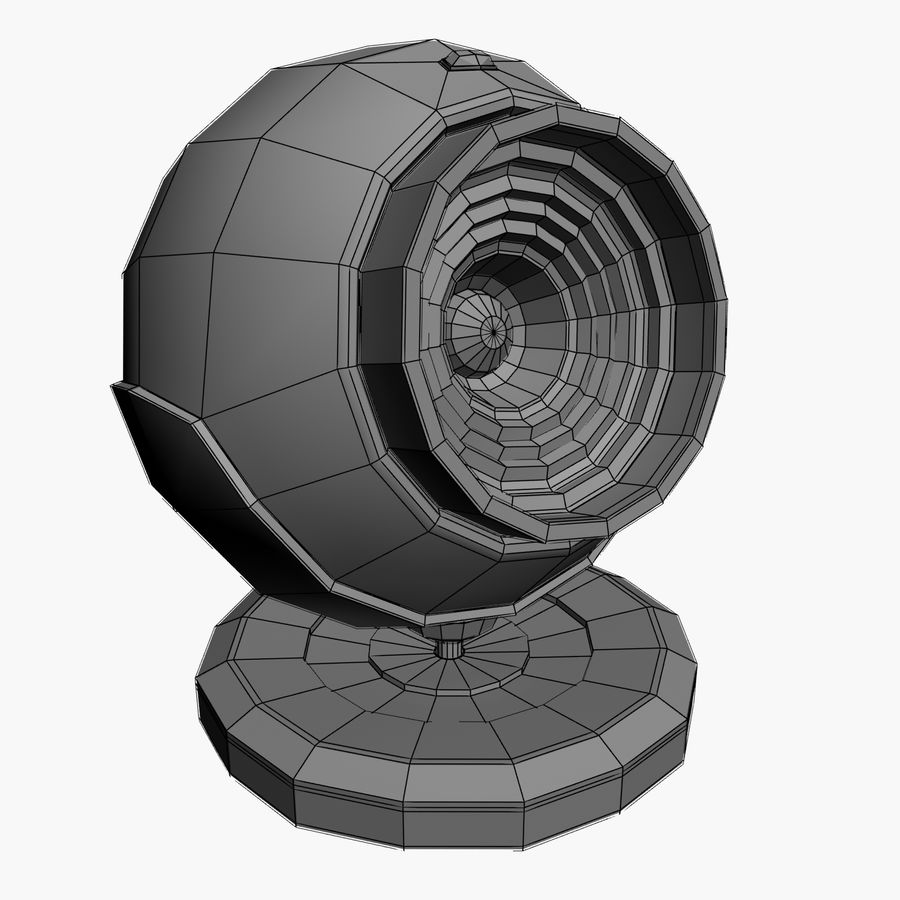 Web cam royalty-free 3d model - Preview no. 2