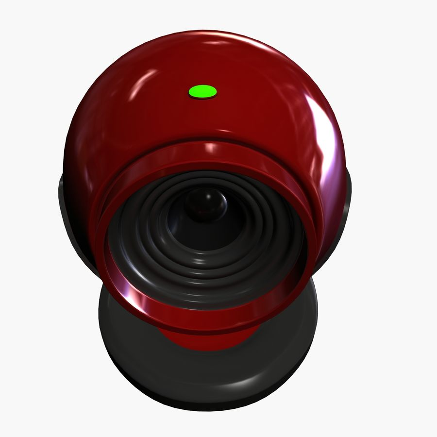 Web cam royalty-free 3d model - Preview no. 3
