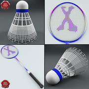 Colecção Badminton V2 3d model