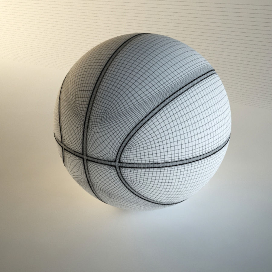 Basketball royalty-free 3d model - Preview no. 8