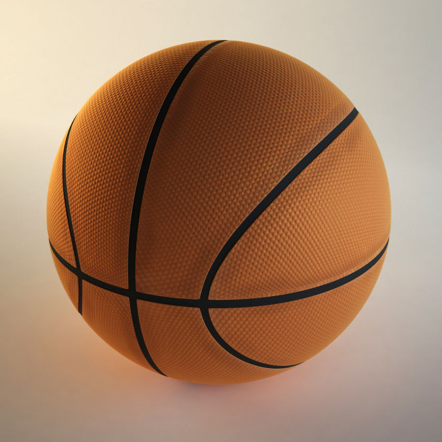 Basketball royalty-free 3d model - Preview no. 3