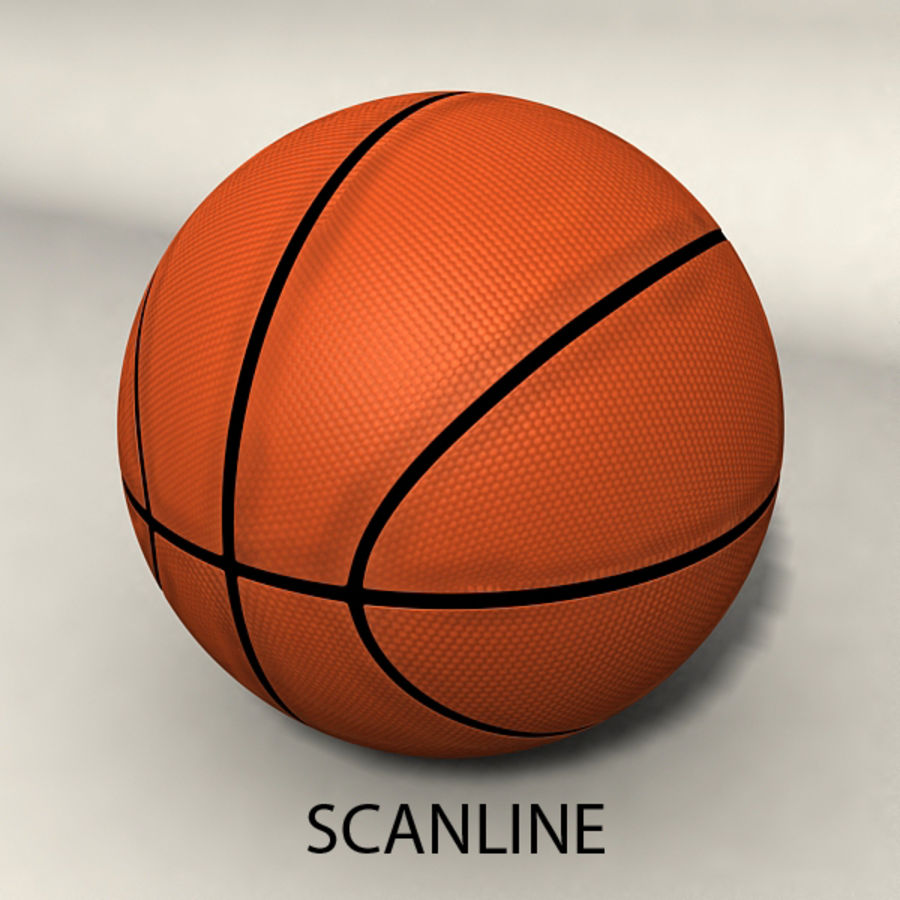 Basketball royalty-free 3d model - Preview no. 6