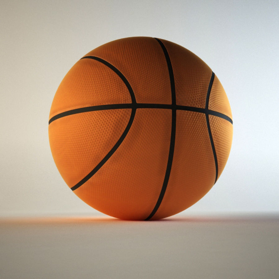 Basketball royalty-free 3d model - Preview no. 4