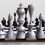 체스 보드 3d model