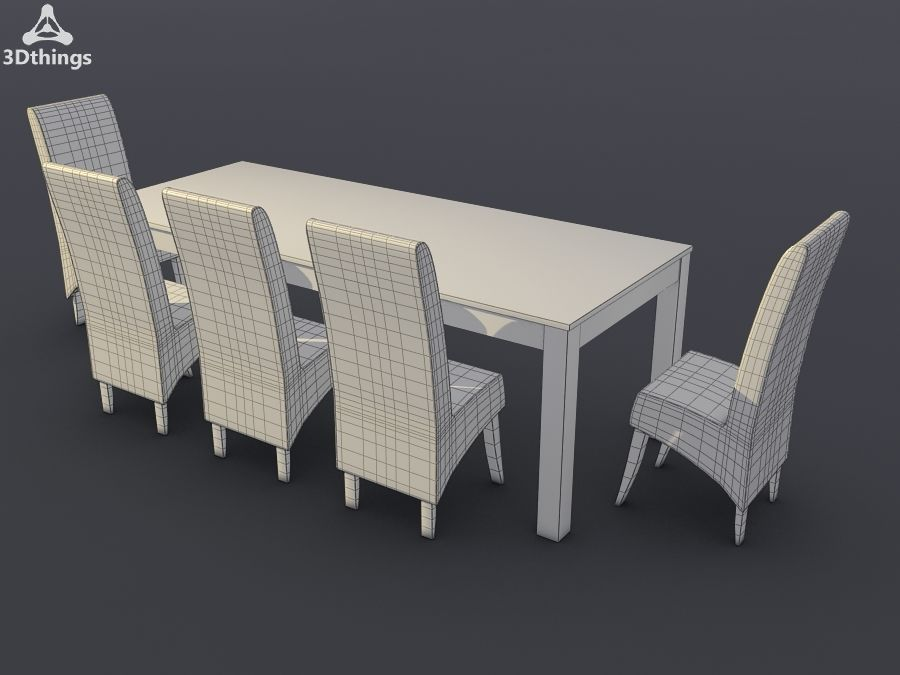 Atlantis Premier Dining Range royalty-free 3d model - Preview no. 1