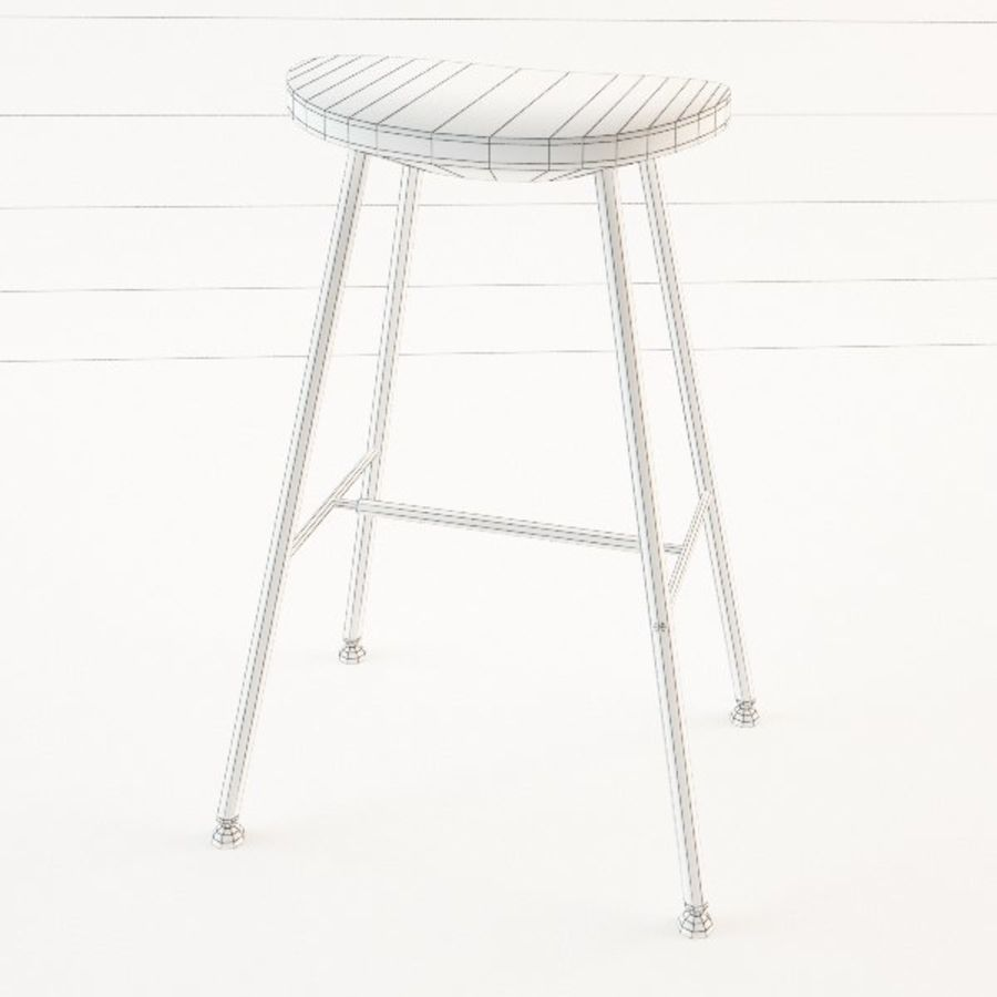 Ikea Sune Bar Stool 3d Model 5 Obj Max Fbx 3ds Free3d