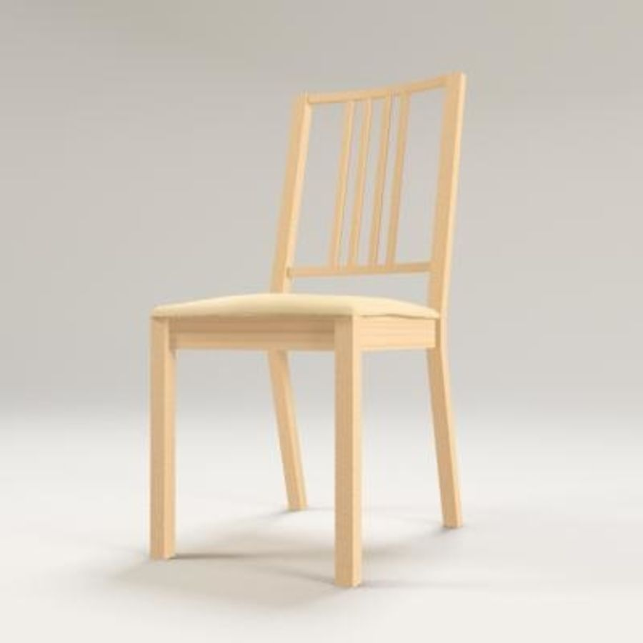 Ikea Borje Chair 3d Model 1 Max Obj 3ds Free3d