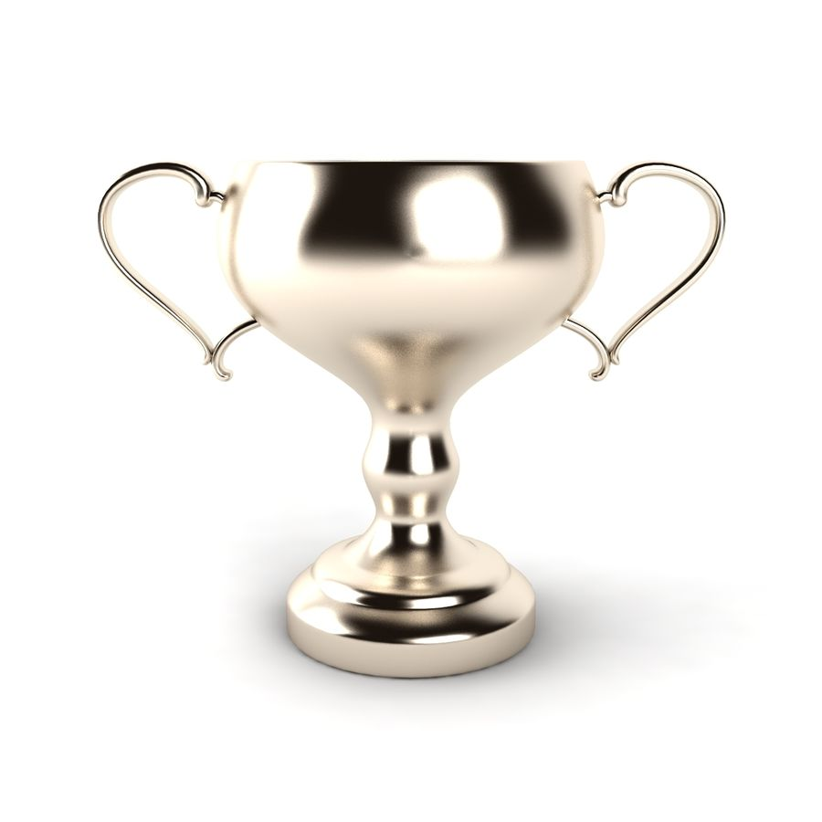 Trophy_06 royalty-free 3d model - Preview no. 4
