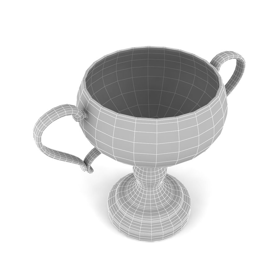 Trophy_06 royalty-free 3d model - Preview no. 6