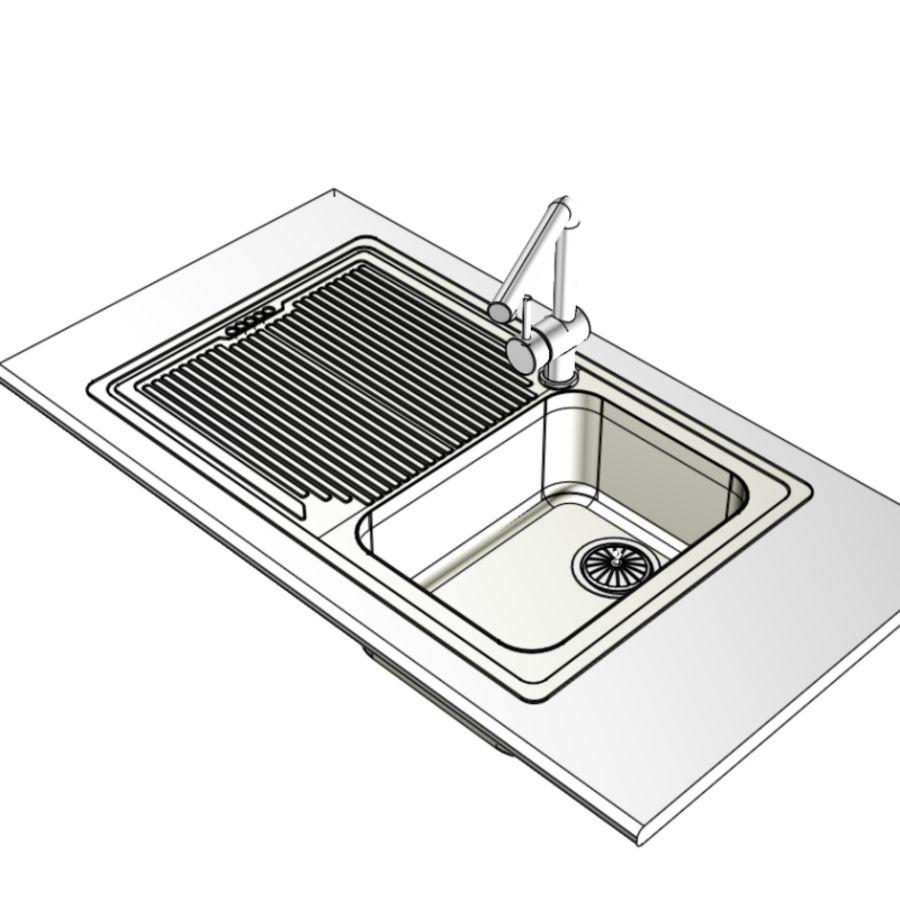 下沉 royalty-free 3d model - Preview no. 3