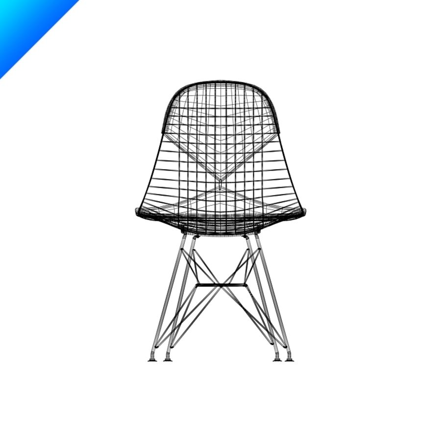 Vitra DKR Eames Wire Chair 3D Model $25 - .max .obj .ma .fbx .c4d ...