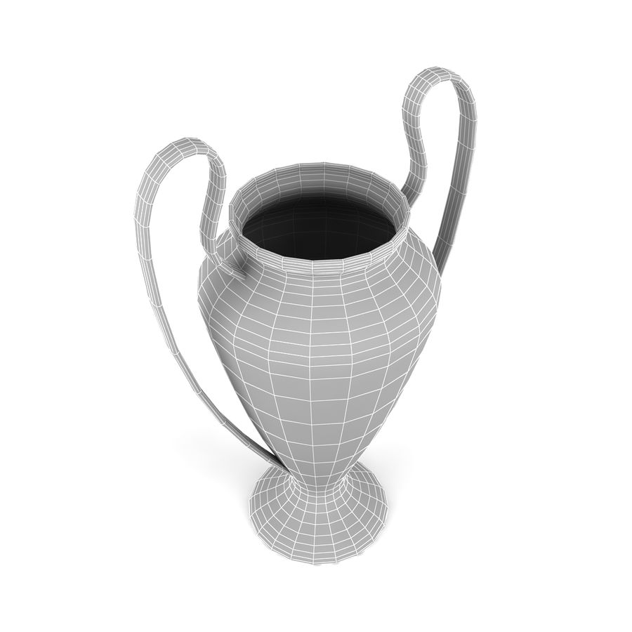 Trophy_04 royalty-free 3d model - Preview no. 6