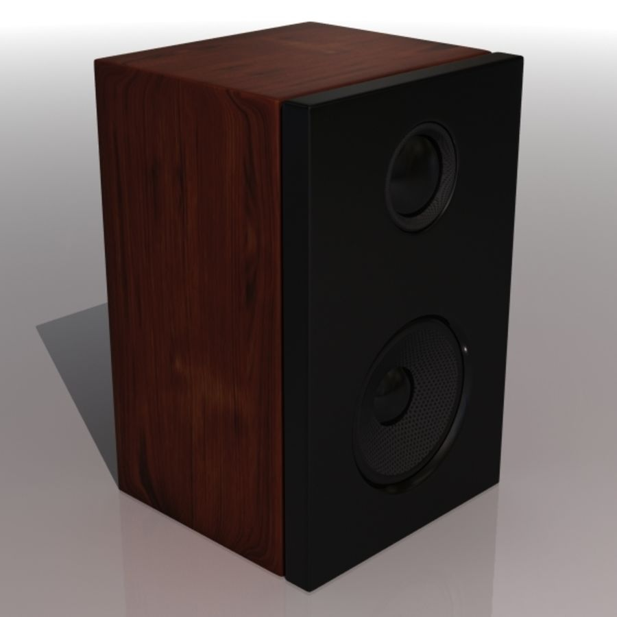 speaker royalty-free 3d model - Preview no. 1
