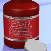 WHEY PROTEIN BOTTLE 3d model