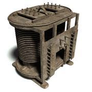 Transformateur des années 1920 3d model