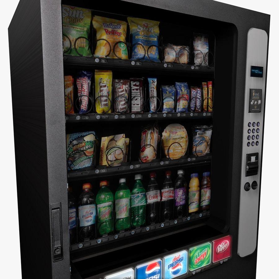 Vending Machine royalty-free 3d model - Preview no. 3