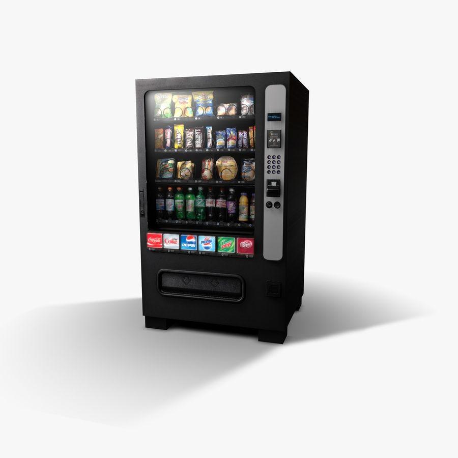 Vending Machine royalty-free 3d model - Preview no. 1