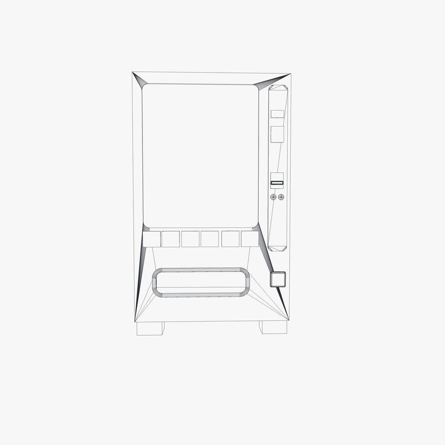 Vending Machine royalty-free 3d model - Preview no. 5
