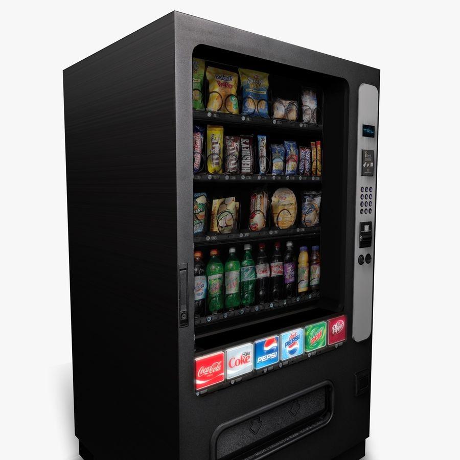 Vending Machine royalty-free 3d model - Preview no. 8