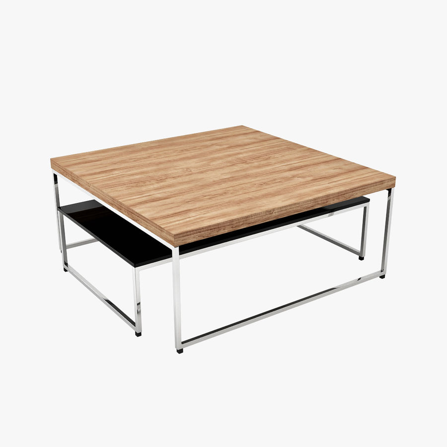 Boconcept Coffee Table Royalty Free 3d Model Preview No 1