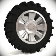 Pneu de tracteur 2 3d model