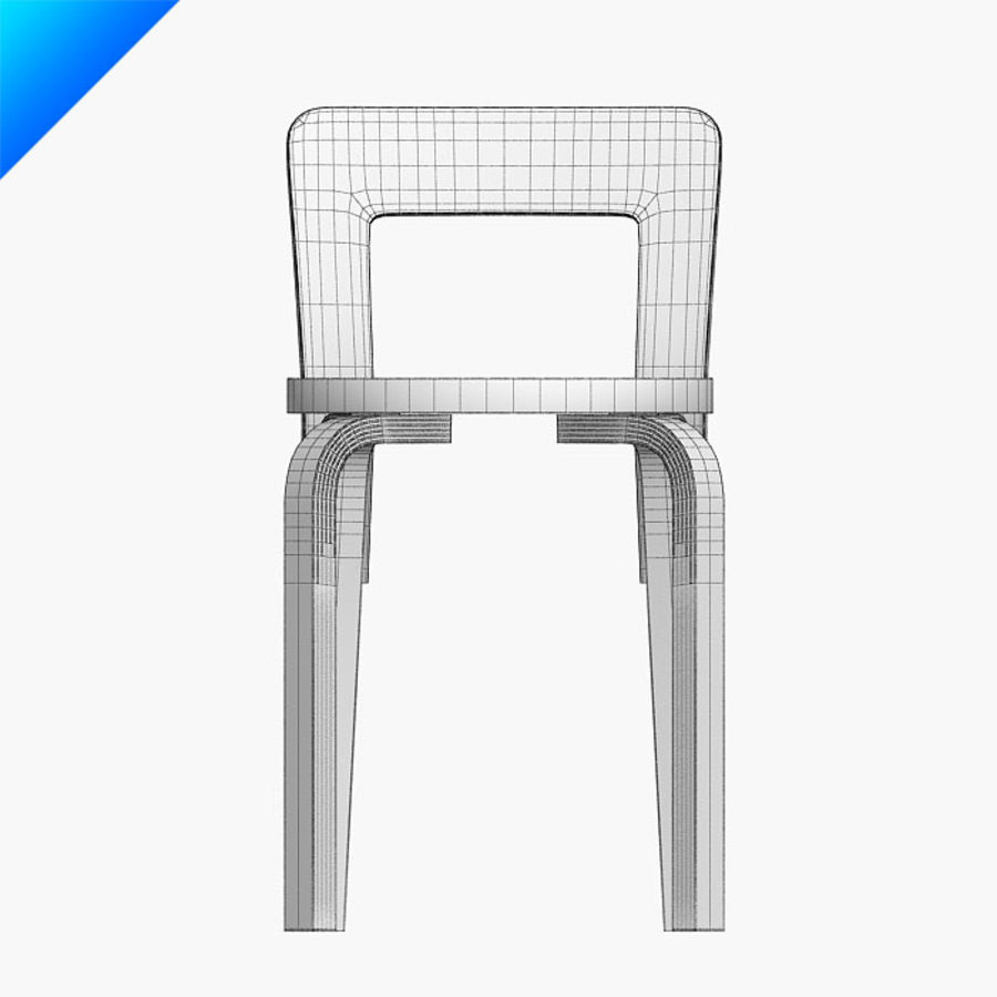chair 65 royalty-free 3d model - Preview no. 11