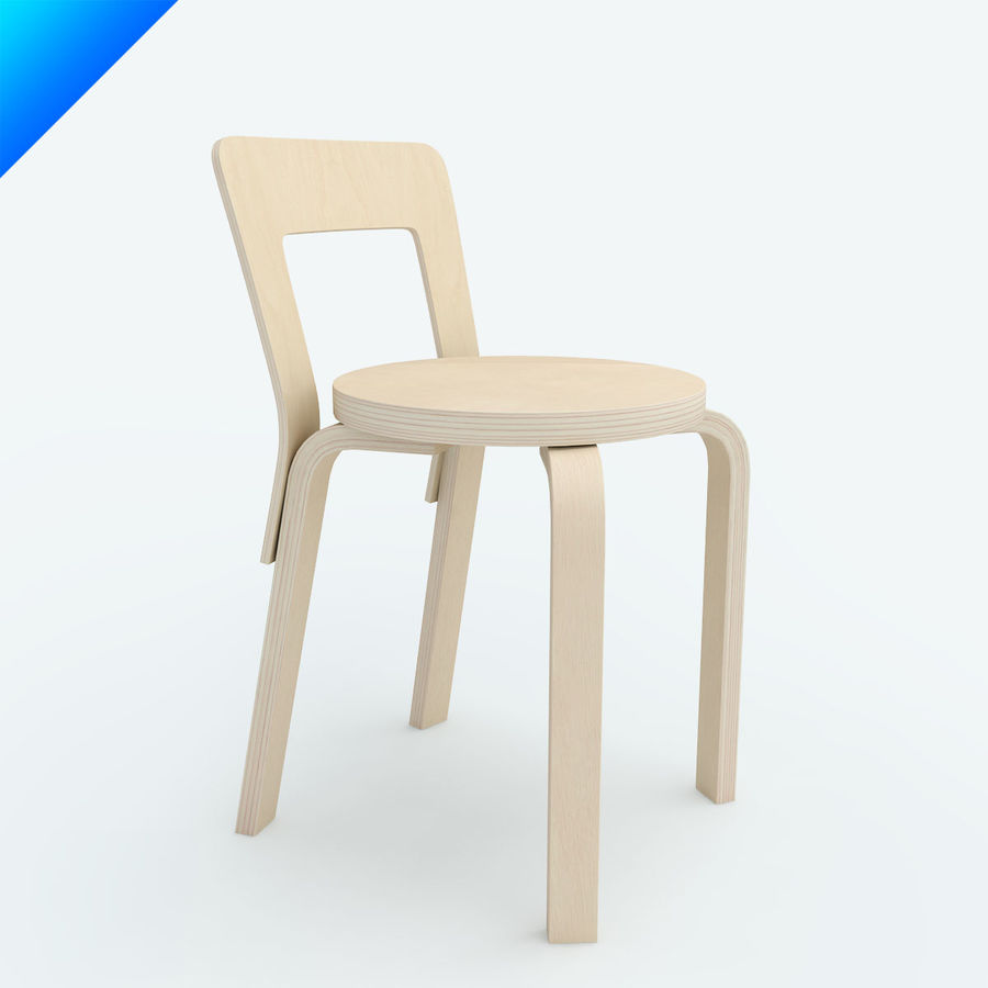 chair 65 royalty-free 3d model - Preview no. 1