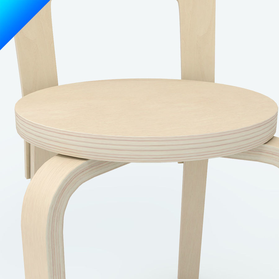 chair 65 royalty-free 3d model - Preview no. 6
