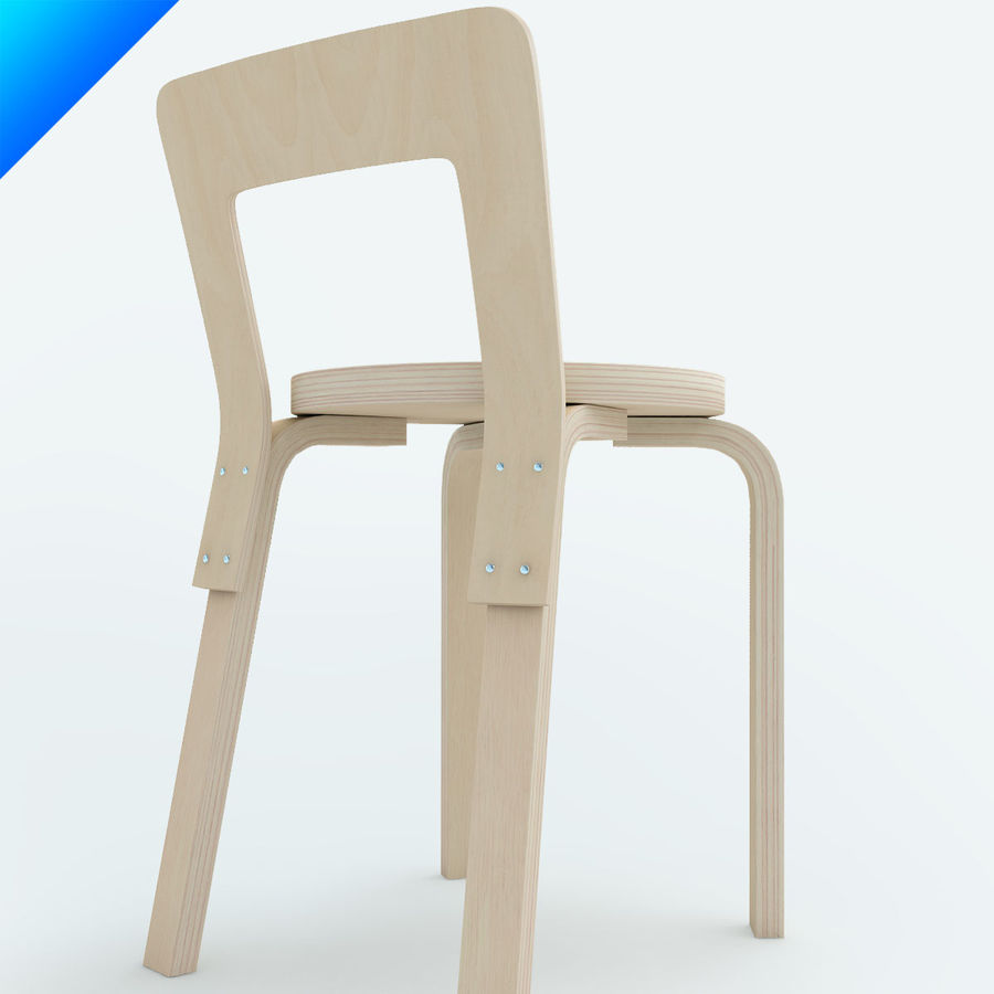 chair 65 royalty-free 3d model - Preview no. 5