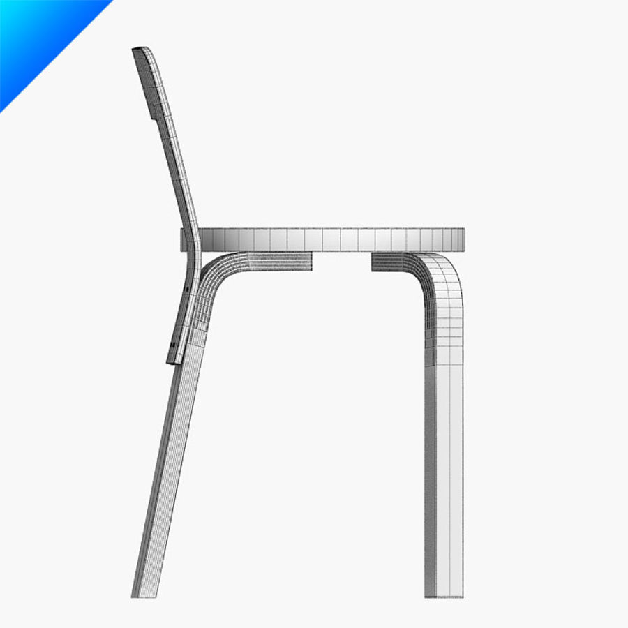 chair 65 royalty-free 3d model - Preview no. 9