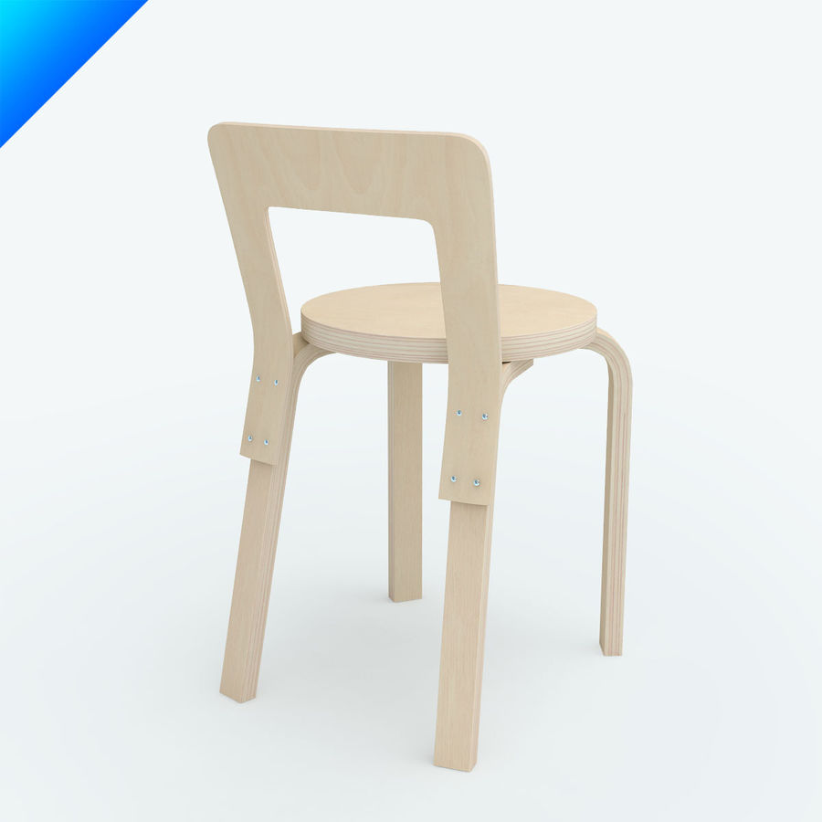 chair 65 royalty-free 3d model - Preview no. 7
