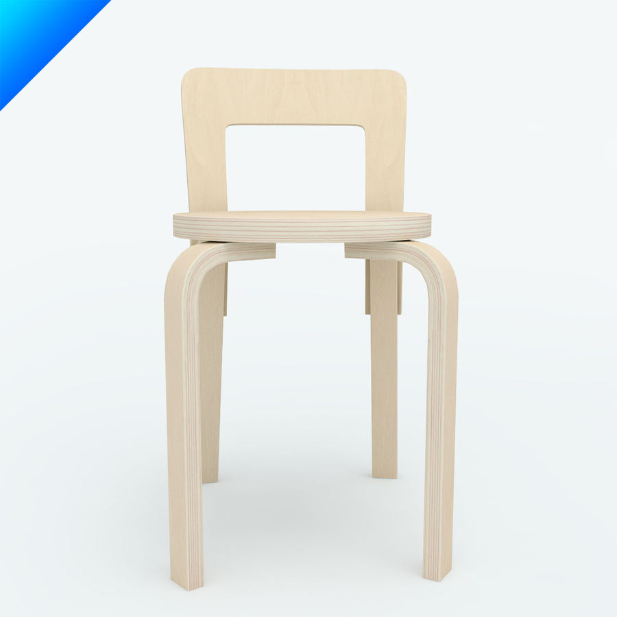 chair 65 royalty-free 3d model - Preview no. 2