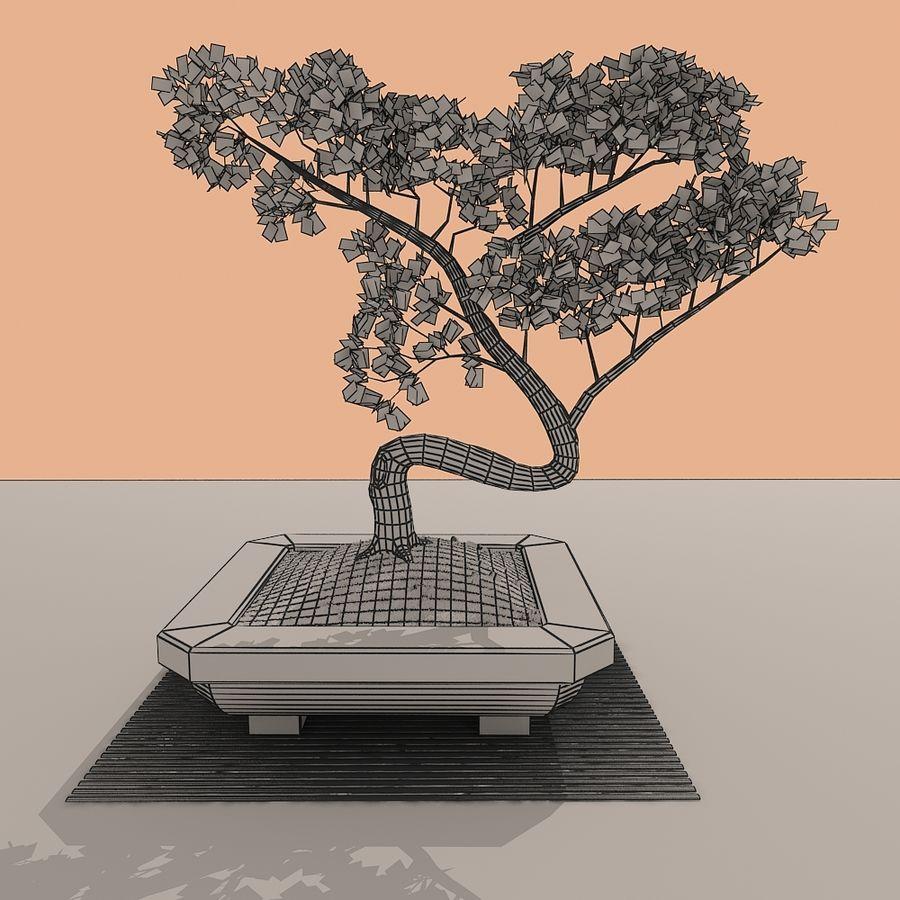 bonsai tree royalty-free 3d model - Preview no. 10