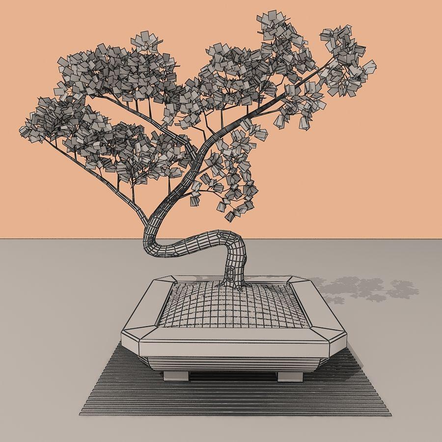 bonsai tree royalty-free 3d model - Preview no. 9