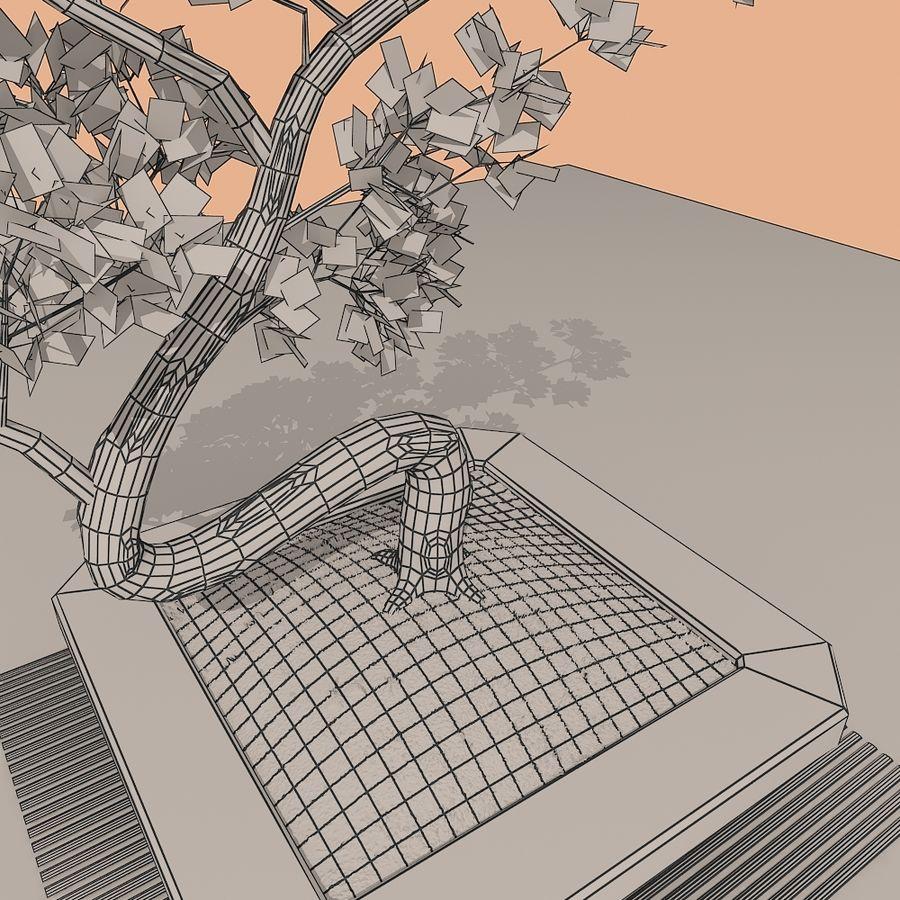 bonsai tree royalty-free 3d model - Preview no. 8