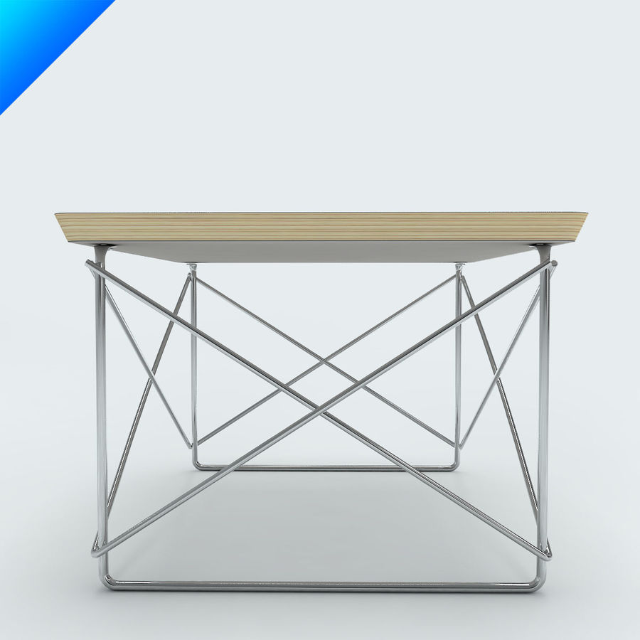 Vitra Ltr Occasional Table 3d Model 20 Max Obj Ma Fbx C4d