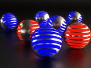PACHINCO LED BALL 2011 3d model
