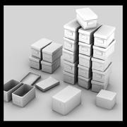 paper box (3) 3d model