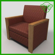 Lounge Chair 1 3d model