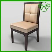 Chaise de salle à manger 4 3d model