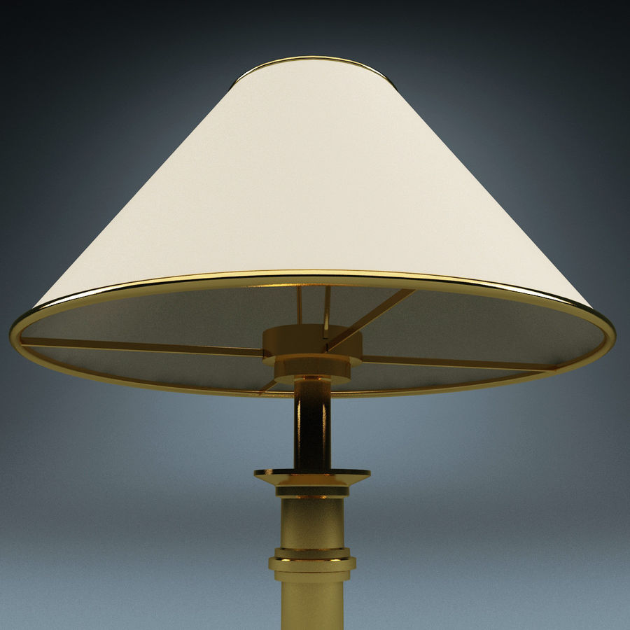Table Lamp royalty-free 3d model - Preview no. 5