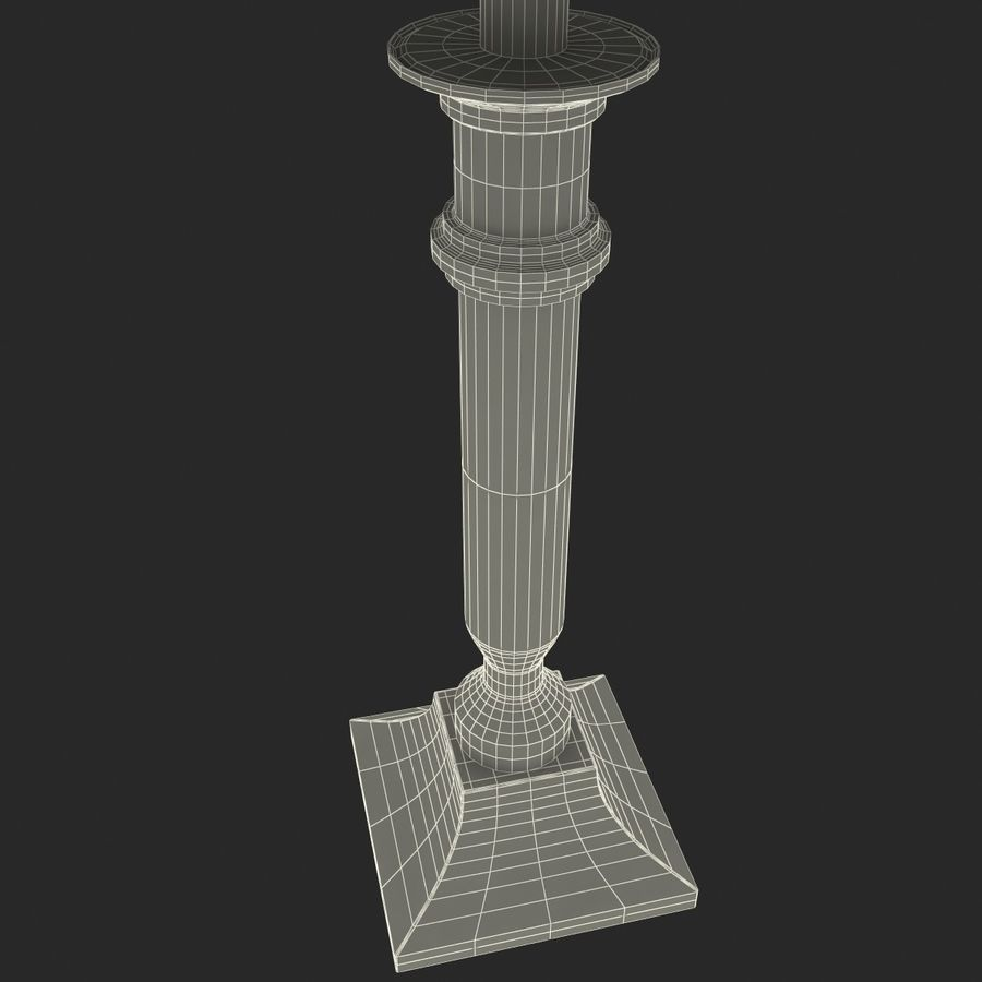 Table Lamp royalty-free 3d model - Preview no. 9