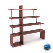 Bookcase_13 3d model