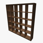 Square Shelving 3d model