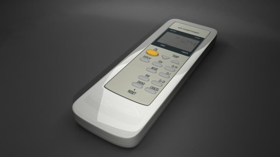 Remote Control royalty-free 3d model - Preview no. 1